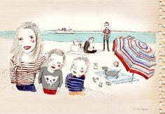 Caroline Hamel - illustration Graphic, Montreal, Illustration, Design, Art, Art Background, Illustrations, Kunst, Gcse Art