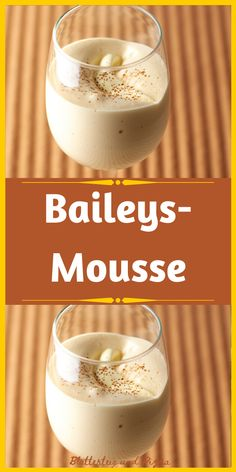 Mousse Dessert, Bailey Mousse, Baileys, Panna Cotta, Food And Drink, Pudding, Sweets, Breakfast, Ethnic Recipes