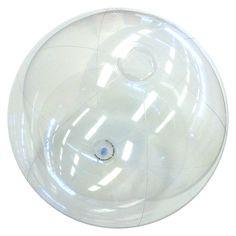 24'' Clear P7 Beach Balls