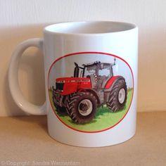 Tractor Mug, Massey Ferguson - Ceramic