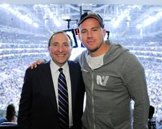 Channing Tatum - 2014 NHL Stanley Cup Final