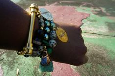 #beadbracelets #charmbracelets #druzystone #dalmationstone #dzibeads #greenhematite #charms #boutique Urban Electric, Charmed, Boutique, Photo And Video, Beads, Bracelets, Green, Jewelry, Instagram