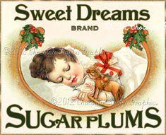 Chocolate Rabbit Graphics by chocolaterabbit Christmas Treat Bags, Christmas Labels, Christmas Cards To Make, Christmas Tag, Christmas Printables, Vintage Christmas, Christmas Graphics, Magical Christmas, Christmas Images