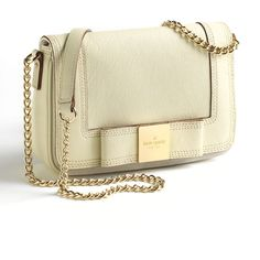 Kate Spade New York Little Kaelin Leather Crossbody Bag found on Polyvore