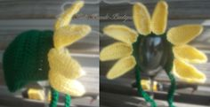Sunflower Hat Customizable colors, petals, and sizes (newborn and up) available! Order yours today by sending an email or finding us on facebook. Don't forget to repin, share, follow, and like! www.facebook.com/TouteBeauteBoutique