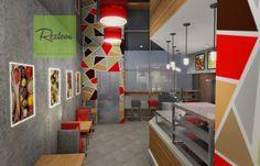 Дизайн кафе быстрого обслуживания. restcon.ru