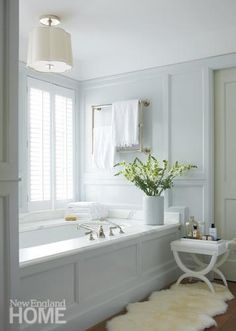 powder blue bath