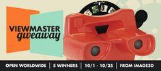 Custom View-Master and Reel Set International Giveaway