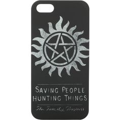 Supernatural The Family Business iPhone 5 Case | Hot Topic ($13) ❤ liked on Polyvore featuring accessories, tech accessories, phone cases, phones, supernatural and tech