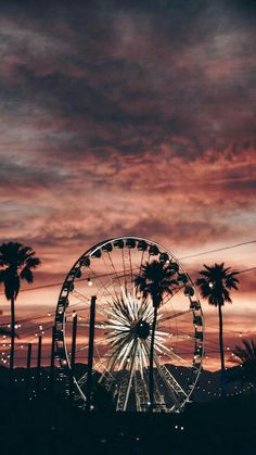 Ferris wheel amusement park carousel attractions wallpaper background palms Source by Tumblr Backgrounds, Cute Backgrounds, Tumblr Wallpaper, Aesthetic Backgrounds, Aesthetic Iphone Wallpaper, Screen Wallpaper, Cool Wallpaper, Cute Wallpapers, Aesthetic Wallpapers