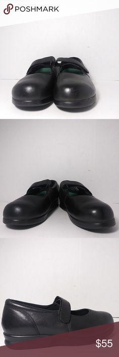 4ce2228c662d Drew Black Velcro Strap Orthopedic Shoes Size8.5WW Drew orthopedic shoes  Mary Jane style leather