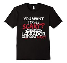 Dog Lover's Halloween T Shirt: You Want to See Scary? Just Mess with my Labrador and I'll show you Scary https://www.amazon.com/dp/B01LM4P7ZA/ref=cm_sw_r_pi_dp_x_EKe4xbMMEJFP5