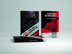 Tolvajkergető voltam és a Győzz meg és uralkodj! című könyvek szerkesztése. #könyvszerkesztés #könyv #szerkesztés #design #infoartnet #győr