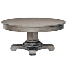 Redford House Drake Round Coffee Table RH46