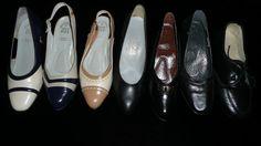 Zapatos diferentes modelos.