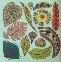 Millie Marotta Tropical World. Colored by Tammy Beard.07-05-2016