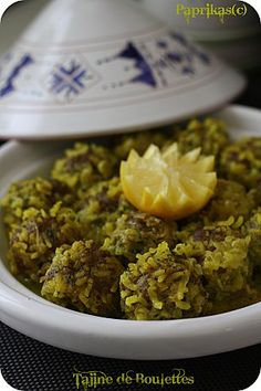 Great tagines and other Moroccan dishes.. in French
