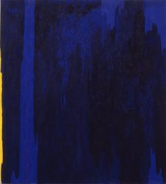 Clyfford Still, 1952-A, 1952; painting.   I want to dress in, and metaphysically match this painting.