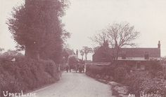 Upney Lane, Barking, Essex, about 100 years ago. This is very near where I live and it doesn't look like this now, sadly.