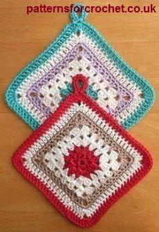 247 Beste Afbeeldingen Van Gehaakte Pannenlappen Crochet
