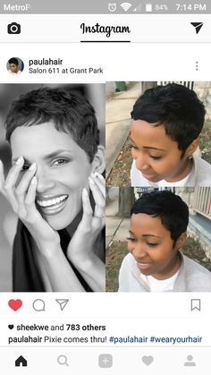 Acquire terrific recommendations on black hairstyles natural-Acquire terrific recommendations on black hairstyles natural. They are on call Acquire terrific recommendations on black hairstyles natural. They are on call - Black Pixie Haircut, Short Black Hairstyles, Hairstyles For Round Faces, Straight Hairstyles, Short Sassy Hair, Short Pixie, Short Hair Cuts, Pixie Cuts, Baddie Hairstyles
