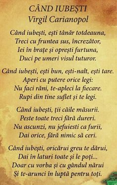 Love You, Let It Be, My Lord, Romania, Affirmations, Literature, Father, Spirituality, Words