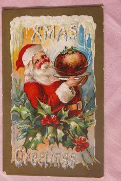 Santa Claus Post Card, 1909