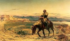 """Elizabeth Butler's """"Retreat from Kabul"""" First Anglo-Afghan War"""