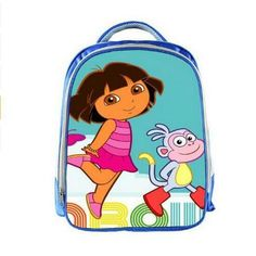 f39eb837859 Fashion Children School Bags Printing Cute Cartoon Baby Dora Schoolbag Cute  Student Backpack Girls Kindergarten Book