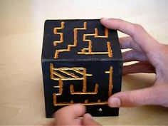 home made puzzle box - YouTube