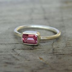 sweetest thing ring, by onegarnetgirl on etsy.  $86.00