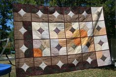 10 Minute Block - with Quilt as you Go!