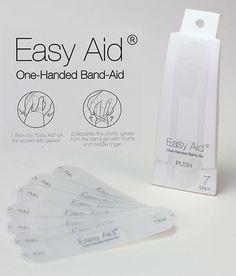容易に貼ることができる絆創膏のアイデア「Easy Aid」