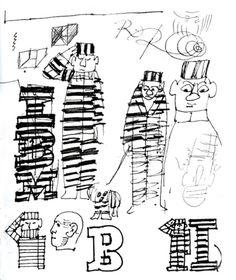 IBM Doodles - Paul Rand
