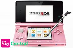Nintendo 3DS Pearl Pink >>> To view further for this item, visit the image link.