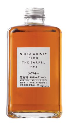Nikka whisky - This Japanese whisky from the award-winning Nikka Distillery has a floral aroma with a touch of orange peel and apricots combined with the delicious taste of boiled sweets and spices. Matured malt whisky and grain whisky have been blended Nikka Whisky, Whiskey Brands, Japanese Packaging, Japanese Whisky, Whiskey Cocktails, Bourbon Cocktails, Fireball Drinks, Scotch Whiskey, Ideas