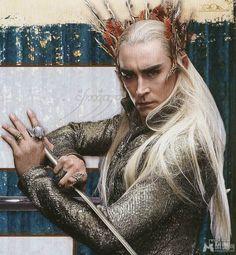 Lee Pace as King Thranduil in The Hobbit movie