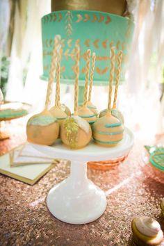 Pastel Dream Catcher themed birthday party via Kara's Party Ideas KarasPartyIdeas.com Printables, cake, invitation, decor, cupcakes, recipes, supplies, etc! #dreamcatcherparty #dreamcatcher #karaspartyideas (24)