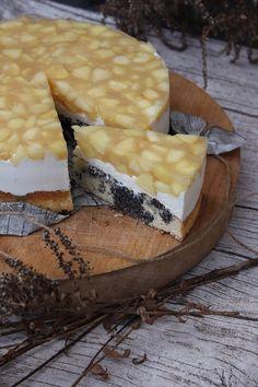 TORTEN LUST: {Rezept} Apfel-Mascarpone-Mohn-Torte