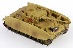 1:144 Scale WWII Tank: Panzer IV Ausf. H by New Millenium Toys. $8.50. 1:144 Scale. Panzer IV Ausf. H Tank in 1:144 scale. WWII German tank made by New Millennium Toys in the Classic Armor series; includes (removable) display stand.  Pre-finished in ordnance tan with unit markings, and other nice small details.