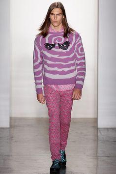 Jeremy Scott Fall 2013 Menswear Collection Slideshow on Style.com