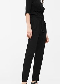 Flowy trousers | MANGO