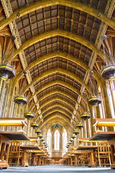 University of Washington, Seattle. Suzzallo Library Reading Room