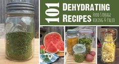 Dehydrating Recipes for Food Storage, Hiking,and Paleo Diets - build up your food storage for emergency preparedness with these great recipes. : Mom with a Prep Healthy Dinner Recipes, Great Recipes, Healthy Snacks, Paleo Recipes, Simple Recipes, Favorite Recipes, Dieta Paleo, Paleo Diet, Camping Meals