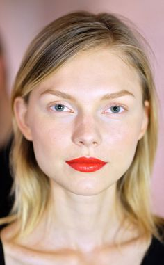 Zac Posen from Makeup & Manicures at New York Fashion Week Spring 2016 Makeup by Mac Cosmetics