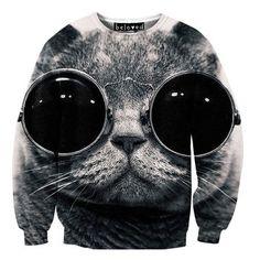 Cool Cat Sweater Unisex