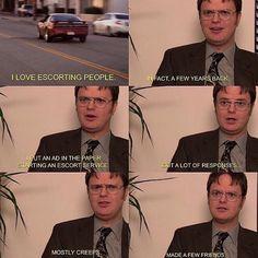 Dwight's Escort Service