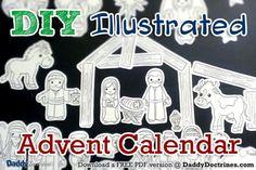 DIY Advent Calendar ideas (Christmas countdown)