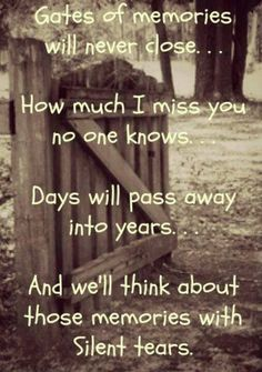 The memories will remain forever in my heart. ♥ I still miss & love you so much Mama. Penny XOX