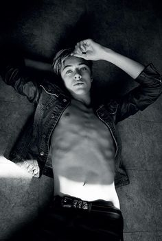 """Vera's Big Gay Blog: Lucky Blue Smith: """"How Dare You Be This Attractive?"""""""